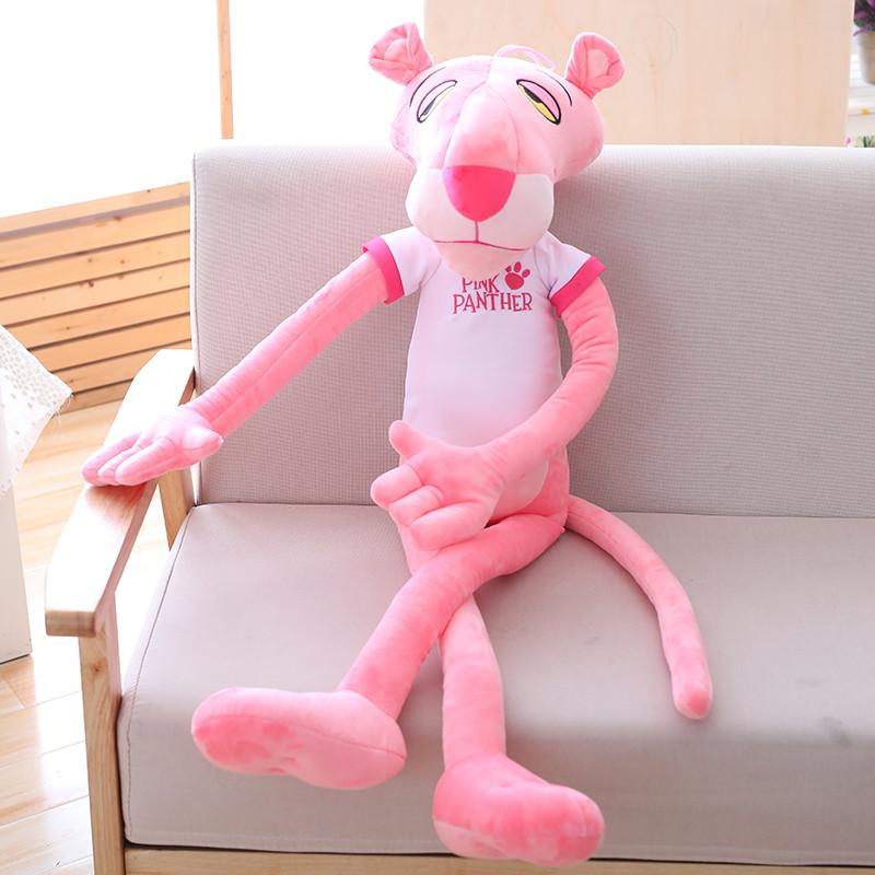 正版粉红豹毛绒玩具可爱粉红顽皮豹公仔布娃娃生日情人节礼物女生