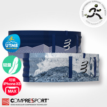 COMPRESSPORT CS Sports Running and Night Running Luggage Belt Enlarges Mobile UTMB 2019