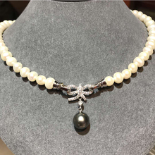 S925 Silver Button Link Button High-end Necklace Button Bracelet Button Diy Pearl Accessories Butterfly Hanging Button