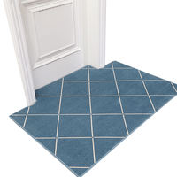 Simple modern wind home entrance door mat custom home door mat living room non-slip absorbent floor mat bedroom carpet