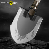 Shen mastiff multi-function folding engineer shovel single soldier outdoor special forces for survival equipment fishing Tibetan mastiff military shovel
