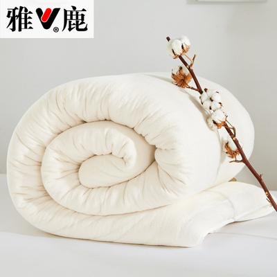 雅鹿新疆棉花被棉絮垫被冬被手工棉胎被子棉絮宿舍被芯棉被
