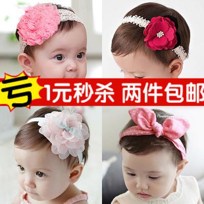 婴儿头花饰品