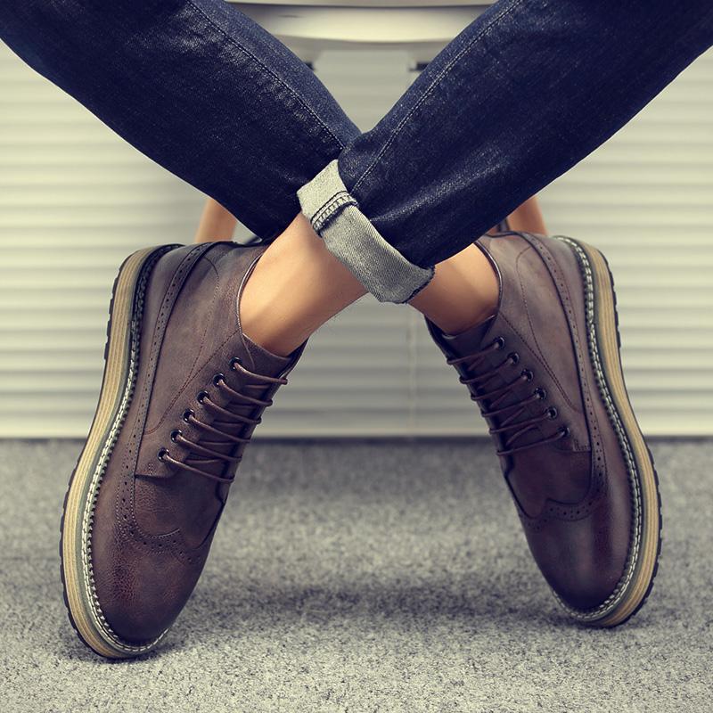 英伦高帮棉鞋