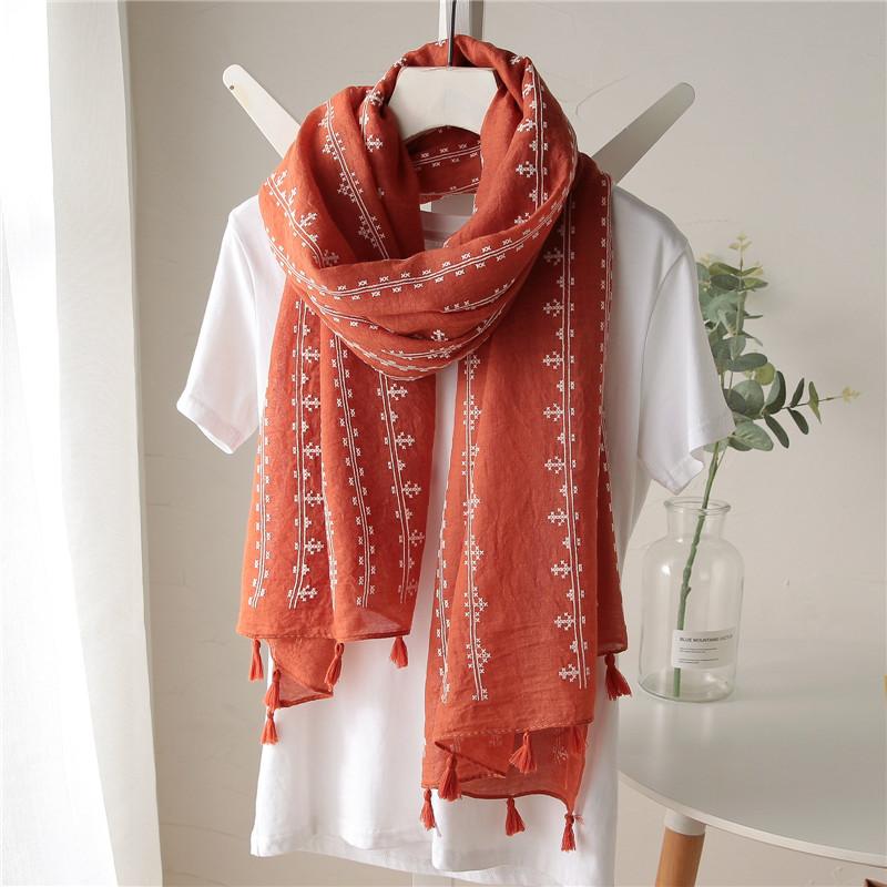 Женские шарфы из хлопка Артикул 564279163832