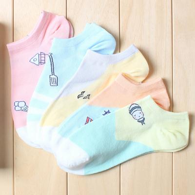 怎么把短袜变成船袜
