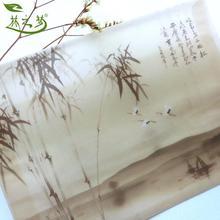 林之梦 硫酸纸信封梦之乡竹子水乡画叶脉书签叶脉画礼品包装6寸