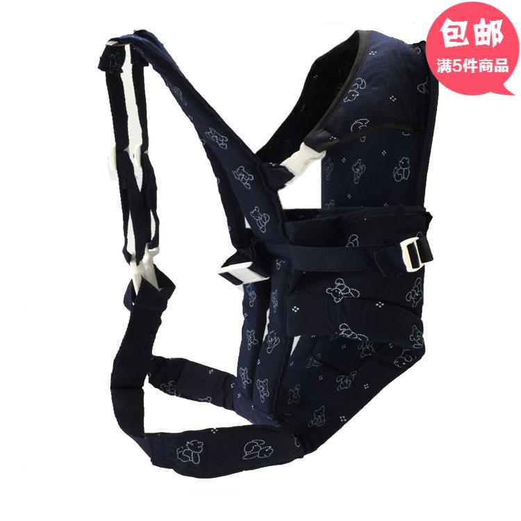 婴儿背带 母婴用品 婴儿用品 婴幼儿宝宝出行花布背袋 多功能抱袋