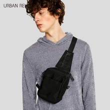 URBAN REVIVO2018春夏新品男包多功能包腰包斜挎包AF02RBCN2000