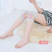 8跳舞男女童空调房护膝护肘保暖 儿童护膝夏季户外防摔纯棉运动5