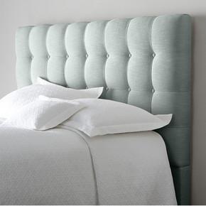 床欧式软包床布艺床双人床1.8米床现代棉麻婚床北欧时尚软体床