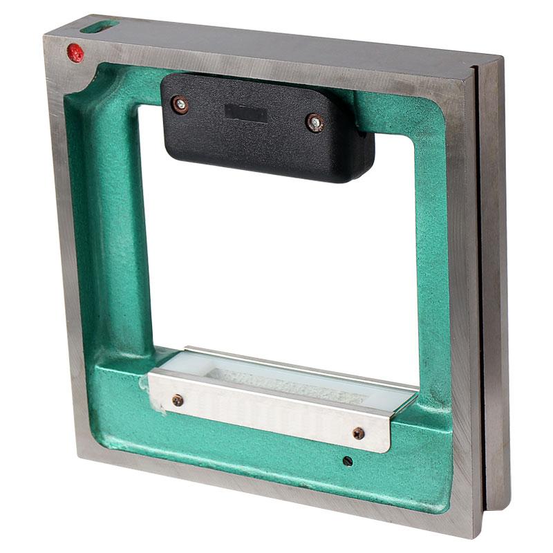 高精度工业级水平尺条式框式水平仪0.02mm机械水泡100-150-200