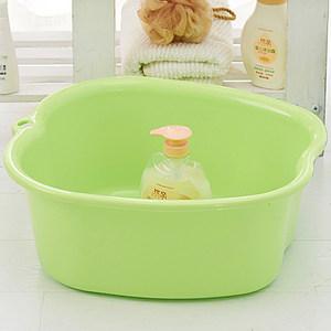 康丰加厚足浴桶 塑料泡脚盆脚底按摩足浴盆 洗脚桶泡脚桶