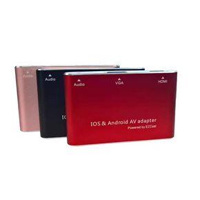 安卓手机通用HDMI视频线小米 三星vivo手机转vga连接电视投影仪器