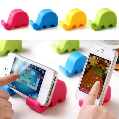 大象支架 懒人床头手机IPAD小支架 创意多功能看电视平板手机架双十二