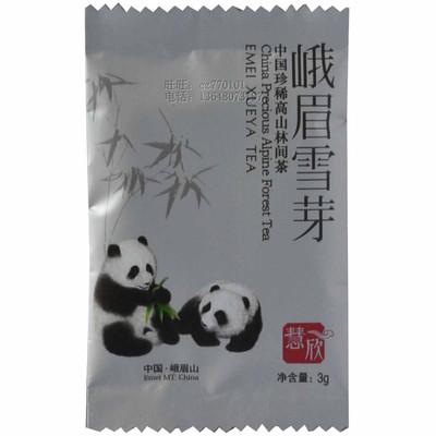 淘金币 峨眉雪芽 慧欣_品尝包4g 绿茶 新茶 茶叶 茶