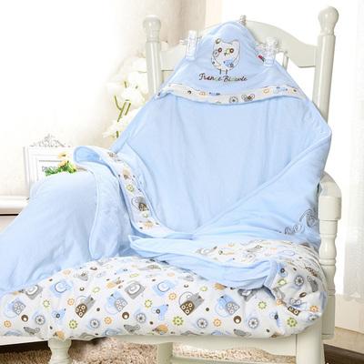 新生儿抱被 婴儿春秋冬款加厚抱毯 宝宝大包被可脱胆包被