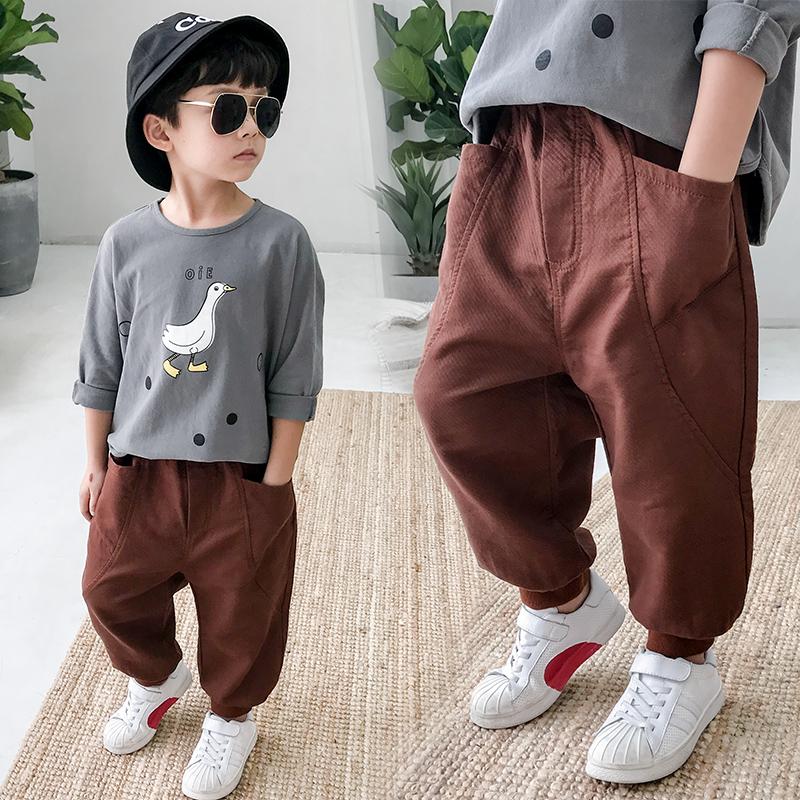 小童加厚休闲裤