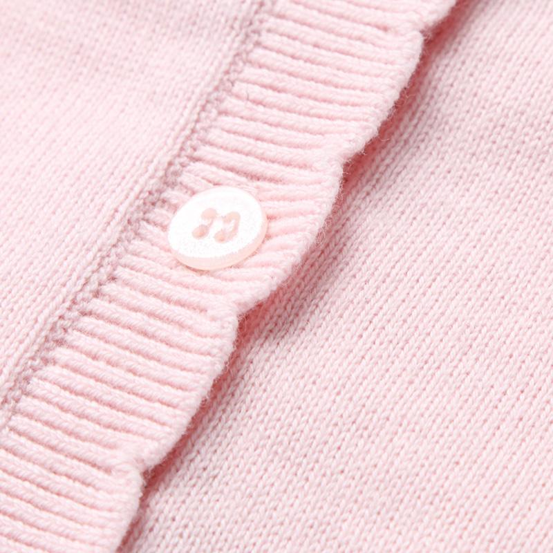 童装女小童2018春季新款棉线开衫TG814099