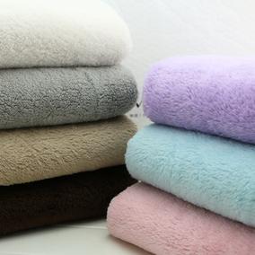 柔软暖和毛绒面料加厚双面羊羔绒珊瑚绒围巾斗篷手套抱被保暖布匹