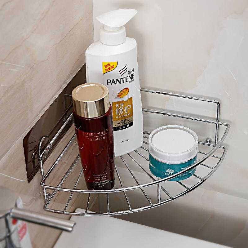 壁挂收纳架免打孔厕所架子浴室置物架