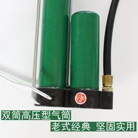 Old-fashioned high-pressure pump Household gas cylinder bicycle electric car motorcycle car inflatable tube gas pipe