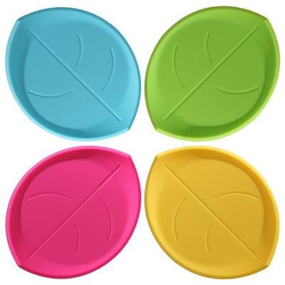 欧式创意立体树叶杯垫隔热垫硅胶垫咖啡垫碗垫茶杯垫 功夫茶杯垫