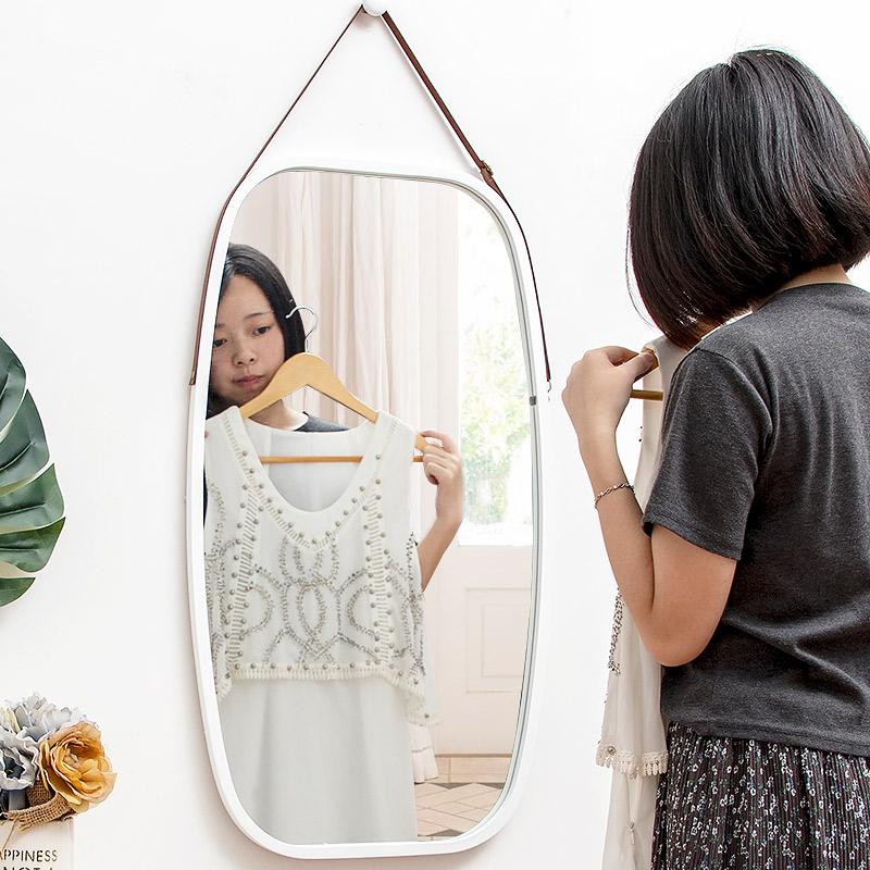 镜子全身穿衣镜壁挂墙试衣镜全身镜女家用落地镜挂镜卧室镜子贴墙