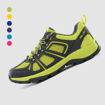 法国伯希和户外登山鞋男 防滑耐磨徒步鞋女低帮透气运动越野跑鞋
