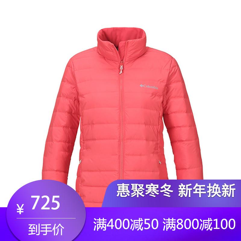 DP 18秋冬新品Columbia哥伦比亚羽绒服女户外650蓬保暖外套PL5261