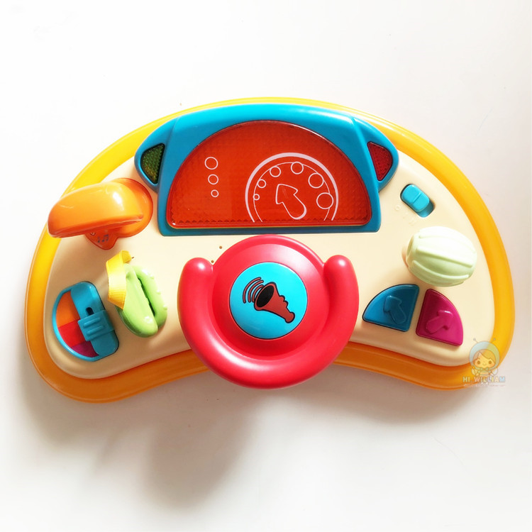 out of Italy infant simulation steering wheel music toy 0-2 infant Bao