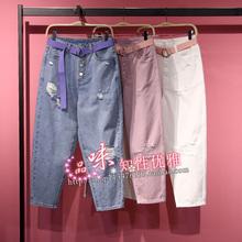 牛仔裤 A4HA92A1155 A4HA92A1111 A4HA92A11太平鸟夏款 A4HA92A1181