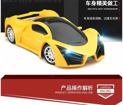 儿童玩具车遥控汽车可充电遥控车漂移赛车小孩男孩玩具汽车带灯光
