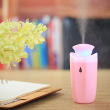 阿帕其迷你USB加湿器静音家用办公卧室小型便捷式加湿器空气补水