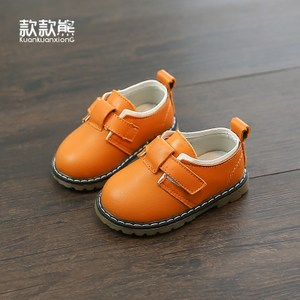 款款熊宝宝鞋0-1-3岁学步鞋春秋春季婴儿软底防滑魔术贴新款鞋子