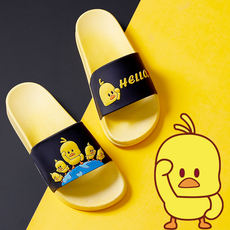 b8ad81d4d73 2019 new slippers female summer slip indoor and outdoor wear fashion  cartoon bathroom home cute couple