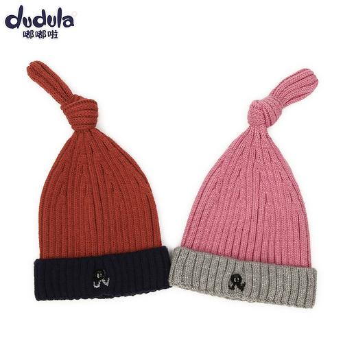 秋冬季婴幼儿帽1-3岁男孩童护耳帽子小宝宝儿童保暖毛线帽套头帽