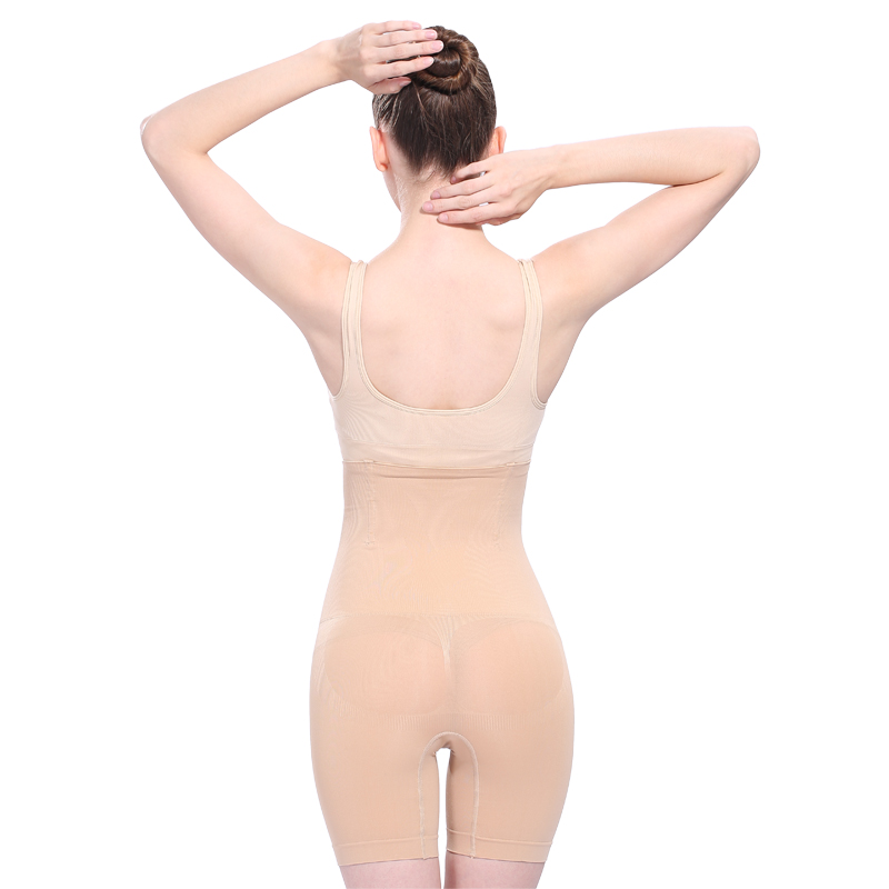 夏季薄款透气产后收腹提臀塑身裤胖mm大码美体束腰瘦身内裤女高腰