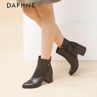 品牌牛皮短靴