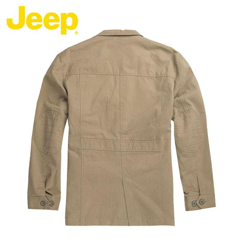 JEEP/吉普专柜男装秋冬新款天丝棉宽松美式休闲西装外套JW11WJ065