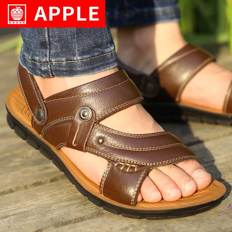 苹果凉鞋男