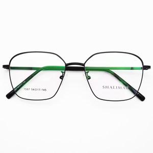 大光明方形眼镜大框女复古文艺眼镜架男时尚个性眼镜可配近视眼镜