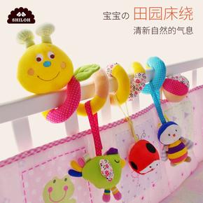 婴儿床铃安抚玩具0-3-6-12个月新生儿床绕男女孩床挂宝宝床头摇铃