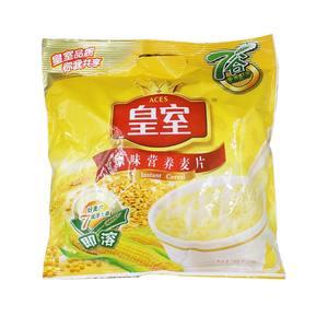 皇室麦片营养麦片早餐冲饮原味加钙600g袋即食早餐营养小袋装燕麦