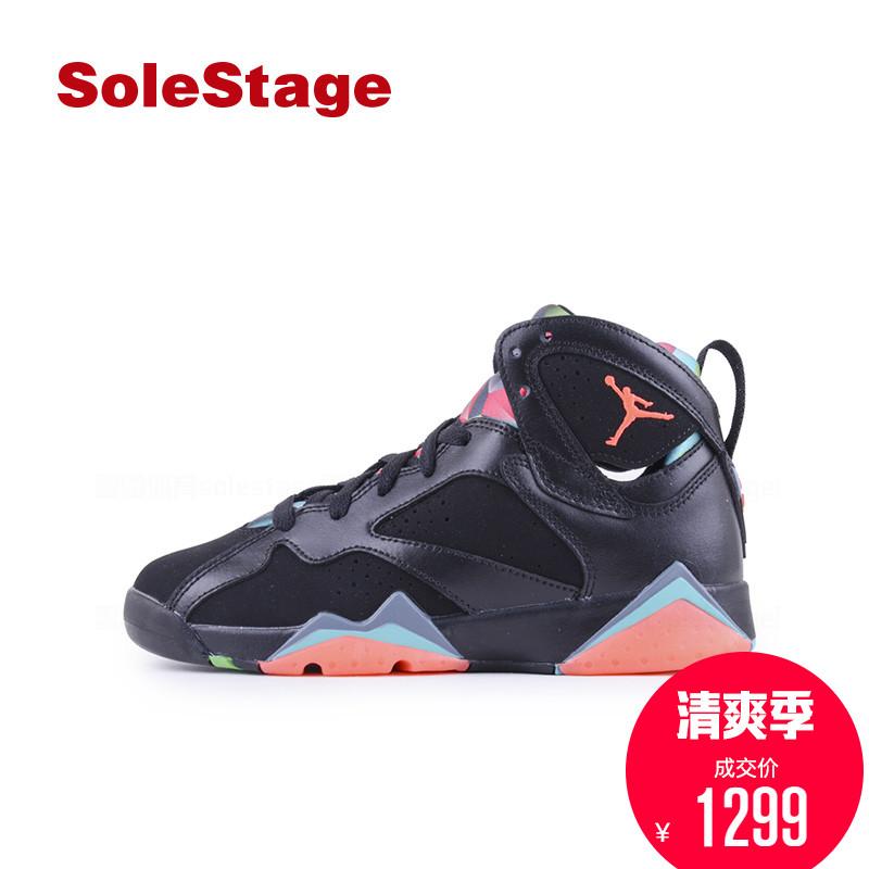 Air Jordan 7 GS乔7AJ7耐克火星人马文女子中帮篮球鞋 705412-007