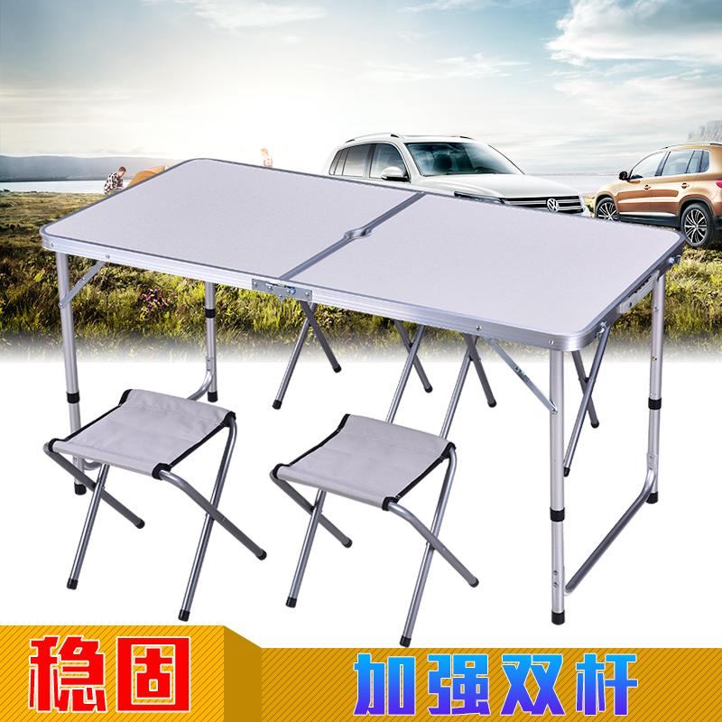 折叠桌广告桌