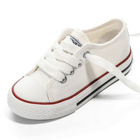 Children's canvas shoes girls shoes 2019 spring new girls white shoes boys shoes shoes shoes parents