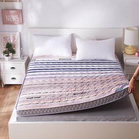加厚保暖10cm海绵床垫1.5\1.8m双人可折叠榻榻米学生宿舍床褥地铺