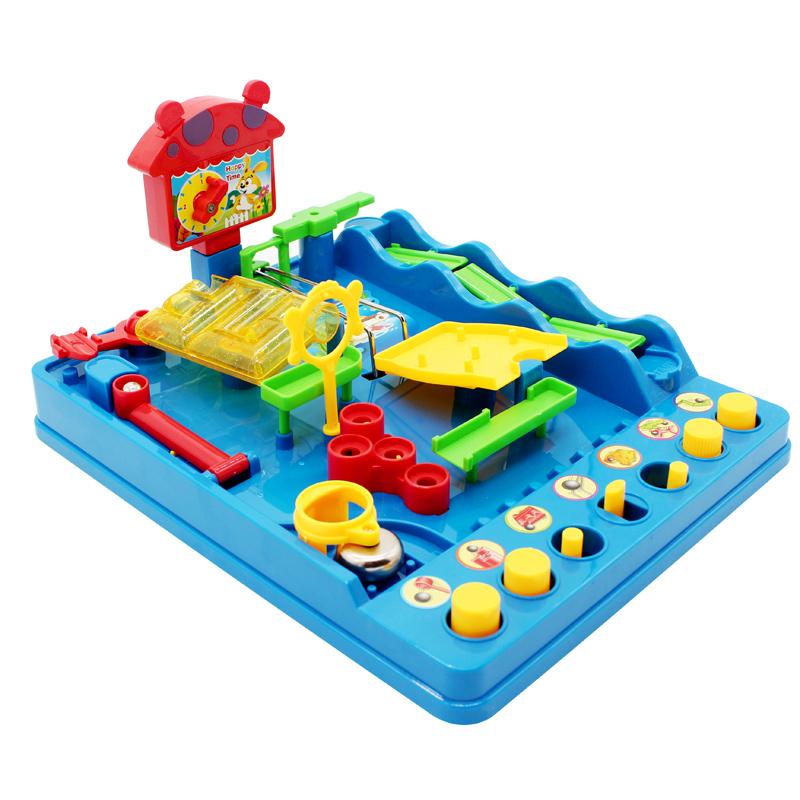 爱可优小贝历险记3D立体迷宫轨道走珠闯关儿童益智玩具女男孩子