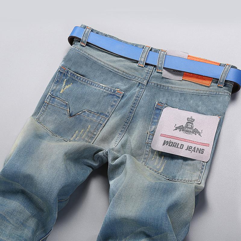 欧美牛仔男裤